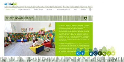 nueva web centro infantil parque tenerife